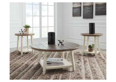 Bolanbrook Two-Tone Occasional Table Set (Set of 3),Signature Design By Ashley