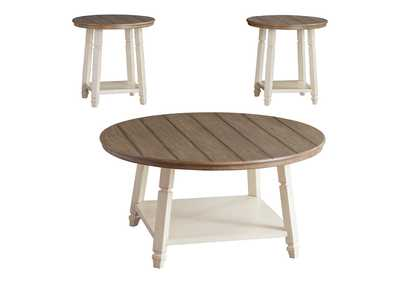 Bolanbrook Two-Tone Occasional Table Set (Set of 3),Direct To Consumer Express
