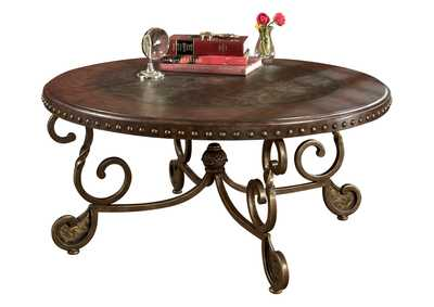 Image for Rafferty Round Cocktail Table