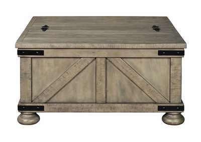 Image for Aldwin Grey Cocktail Table w/Storage