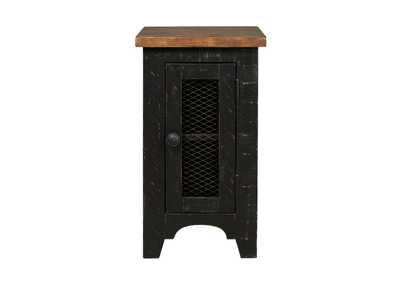 Valebeck Black Chairside End Table,Signature Design By Ashley