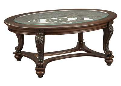Image for Norcastle Oval Cocktail Table