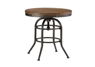 Vennilux Round End Table,Direct To Consumer Express
