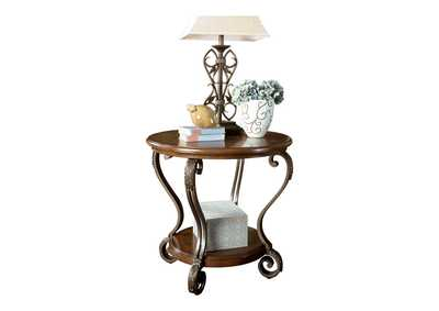 Image for Nestor Round End Table