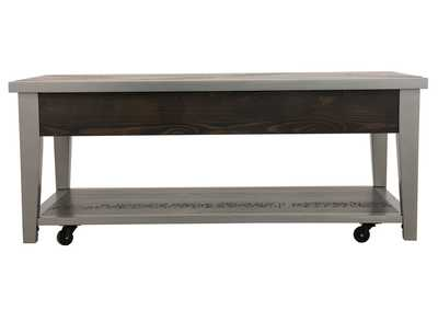 Branbury Gray Rectangular Cocktail Table,Signature Design By Ashley