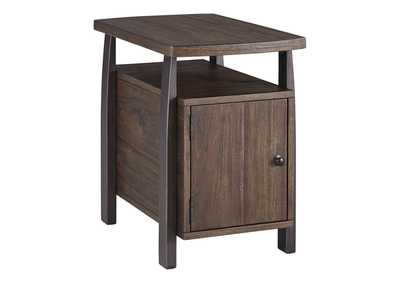 Image for Vailbry Brown Chair Side End Table