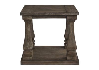 Johnelle Gray End Table,Signature Design By Ashley