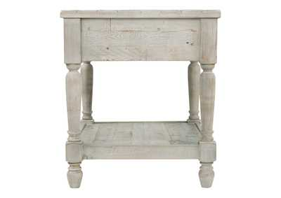 Shawnalore White Wash Rectangular End Table,Direct To Consumer Express