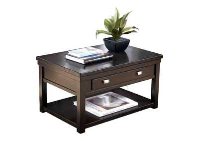 Hatsuko Brown Coffee Table w/Lift Top