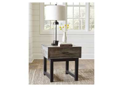 Mondoro Brown End Table,Signature Design By Ashley