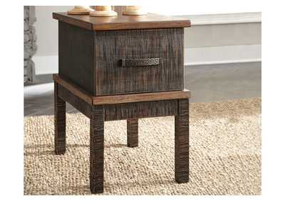 Stanah Two-tone Chair Side End Table,Direct To Consumer Express