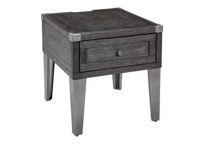 Image for Todoe Dark Gray Rectangular End Table