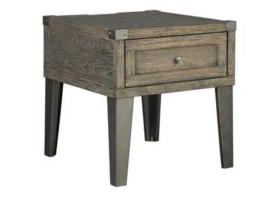 Image for Chazney Rustic Brown End Table
