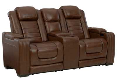 Image for Backtrack Power Reclining Loveseat with Console