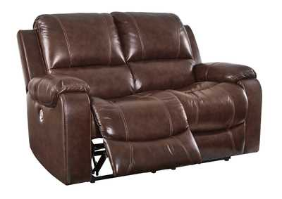 Rackingburg Mahogany Power Reclining Loveseat,Signature Design By Ashley