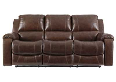 Image for Rackingburg Mahogany Power Reclining Sofa