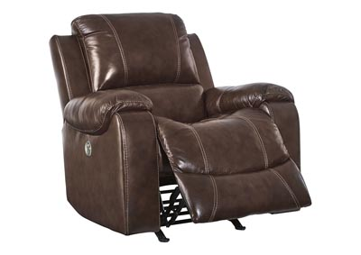 Rackingburg Mahogany Power Rocker Recliner,Signature Design By Ashley