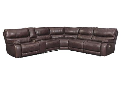 Image for Muirfield Mahogany Sectional