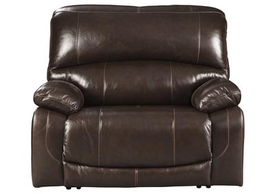 Hallstrung Chocolate Power Recliner w/Adjustable Headrest,Signature Design By Ashley