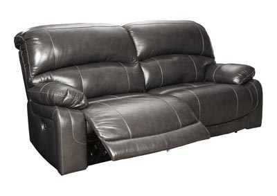 Image for Hallstrung Gray 2 Seat Reclining Power Sofa