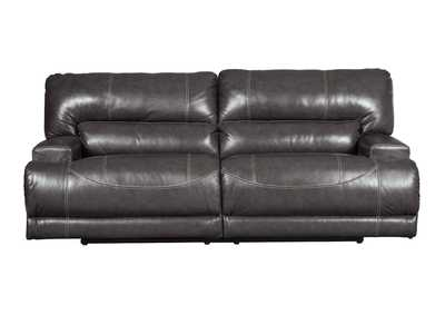 Image for McCaskill Gray 2 Seat Reclining Sofa