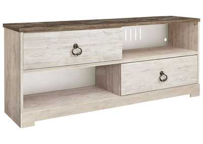 "Image for Willowton Whitewash 60"" TV Stand"