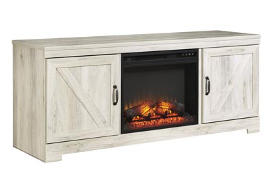 "Image for Bellaby Whitewash 63"" TV Stand w/Fireplace Insert Infrared"