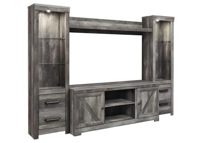 Image for Wynnlow Gray Entertainment Center