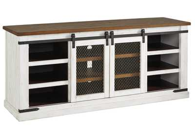 Image for Wystfield White/Brown TV Stand