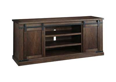 Image for Budmore Rustic Brown Extra Large TV Stand