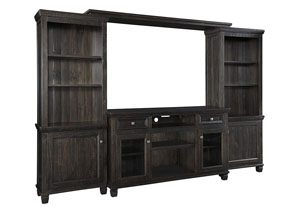 Image for Townser Grayish Brown Entertainment Center