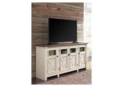 Bolanburg Two-tone Extra Large TV Stand,Signature Design By Ashley
