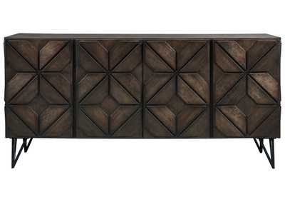 "Image for Chasinfield Brown 72"" TV Stand"