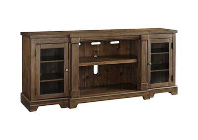 Image for Flynnter Medium Brown XL TV Stand