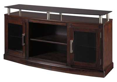 "Image for Chanceen Dark Brown 60"" TV Stand"
