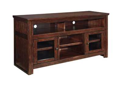 Image for Harpan Reddish Brown Large TV Stand