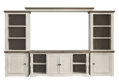 Image for Havalance Two-Tone Entertainment Center