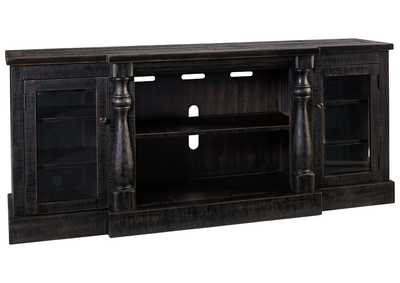 Image for Mallacar Black Extra Large TV Stand