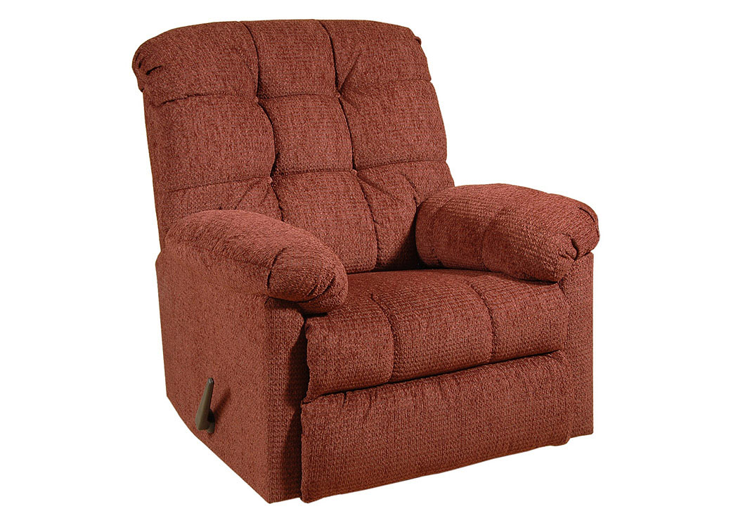 Radar Wine Man Cave Rocker Recliner,Hughes Furniture