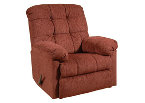 Radar Wine Man Cave Rocker Recliner