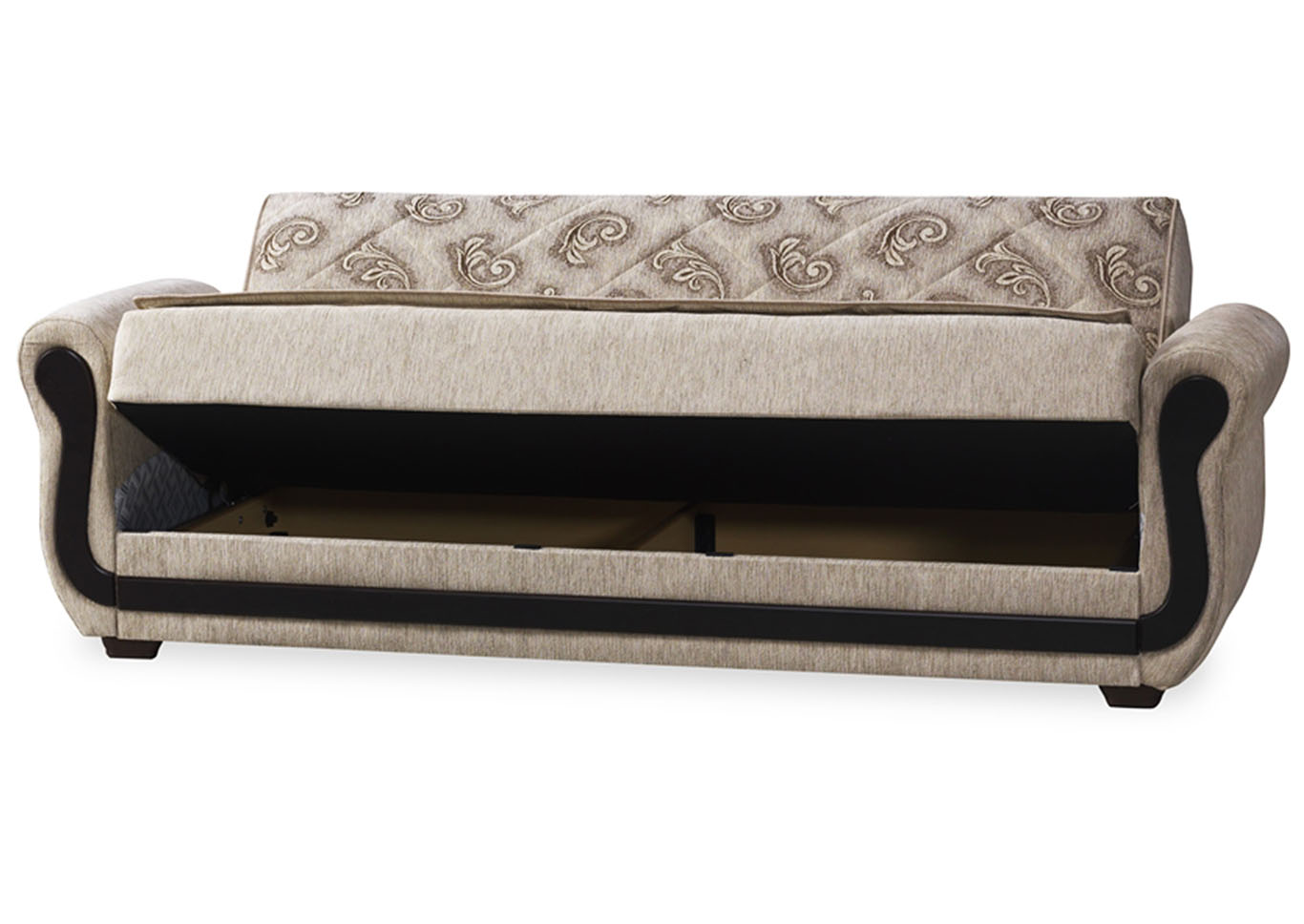 Maddox Cream Sofabed,CasaMode Functional Furniture