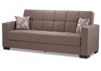 Image for Armada Brown #12 Chenille Polyester Sofa