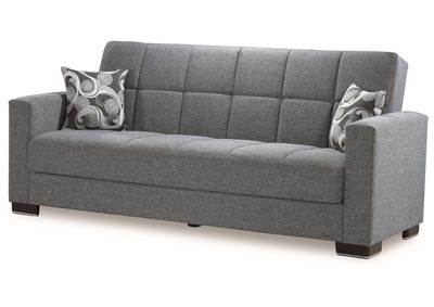 Image for Armada Gray #13 Chenille Polyester Sofa