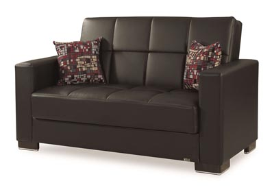 Image for Armada Black PU #15 Love Seat
