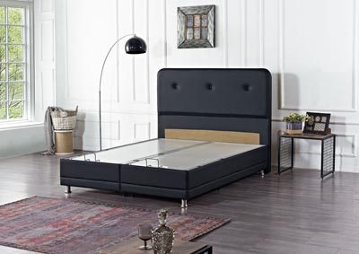 Image for Casarest Black Queen Storage Bed