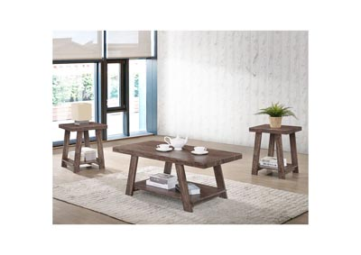 Image for Gustine Oak Coffee Table