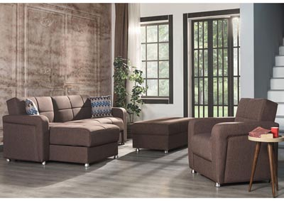 Image for Harmony Brown Sectional