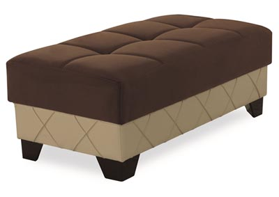 Image for Molina Brown Microsuede Ottoman