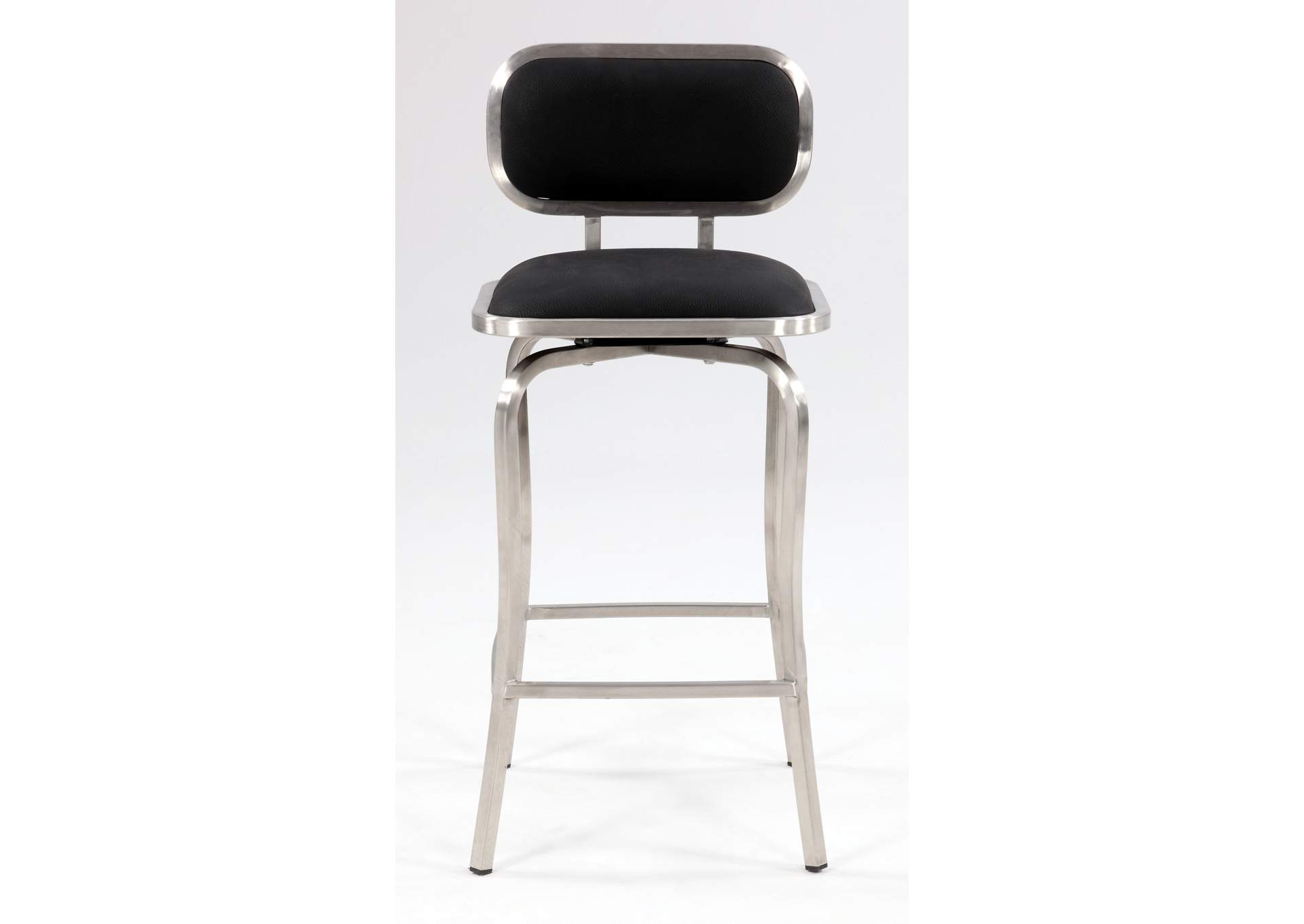 Black Swivel Counter Stool,Chintaly Imports