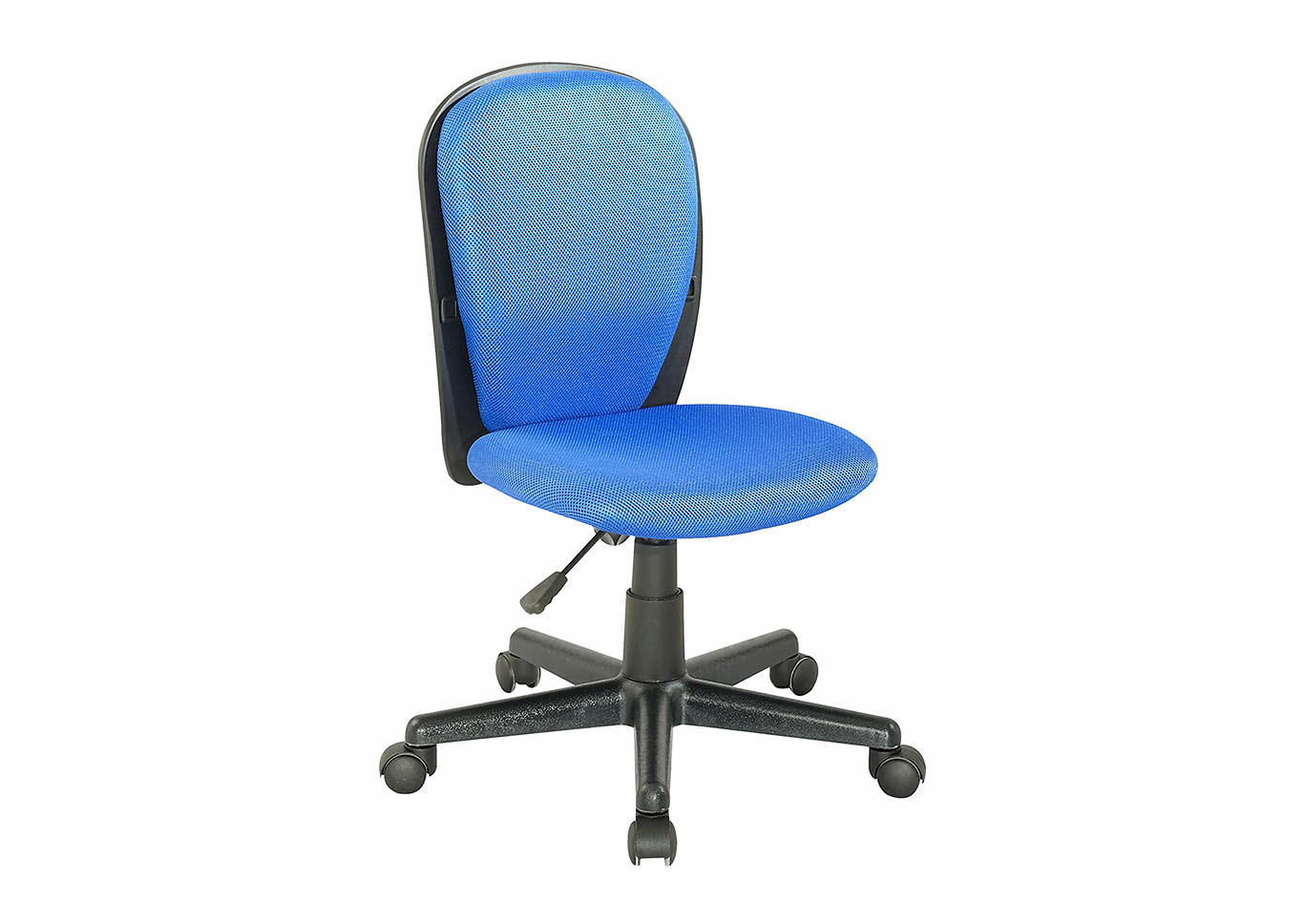Modern Blue Computer Chair,Chintaly Imports